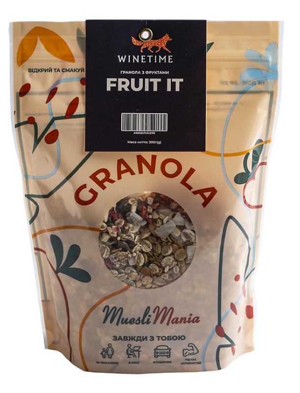 Гранола с фруктами Fruit It WINETIME фото